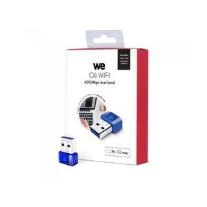 CLE WIFI - 3G Clé Wifi 600Mbps DUAL BAND AC600  WE