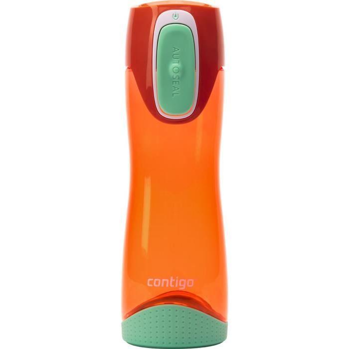 CONTIGO Bouteille Hydratation SWISH PINK W PEACH 500ML