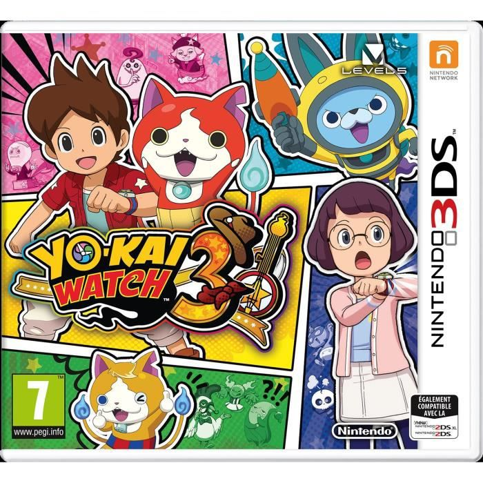 Yo kai Watch 3 Jeu 3DS