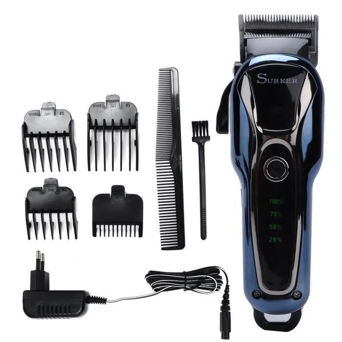 Coupe-tondeuse électrique professionnel coupe-cheveux coupe de cheveux coupe outil de coiffure-CER