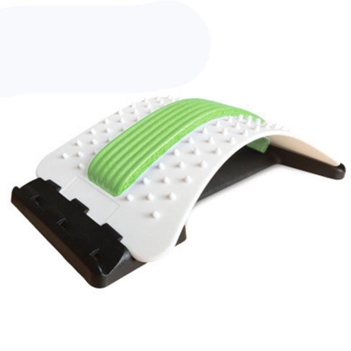 Dispositif de traction lombaire, civière de disque intervertébral lombaire, fatigue à la taille, correcteur de massage -E
