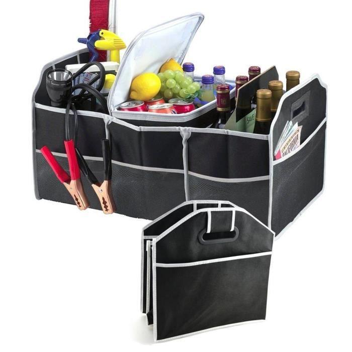 Organisateur 2 en 1 pour coffre à bagages Bagage pliable Tidy Heavy Duty