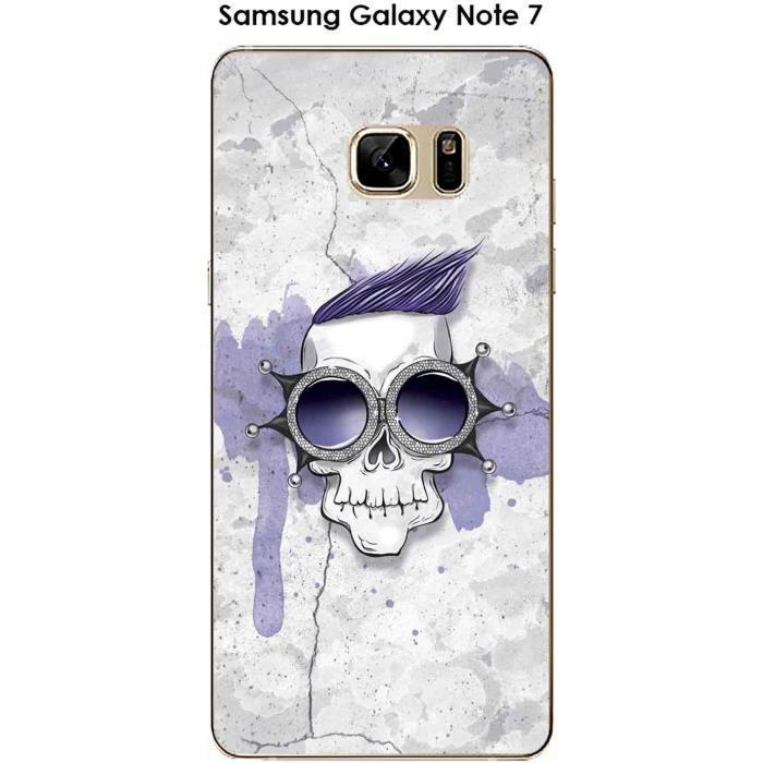 Coque Samsung Galaxy Note 7 design Marcel est tendance