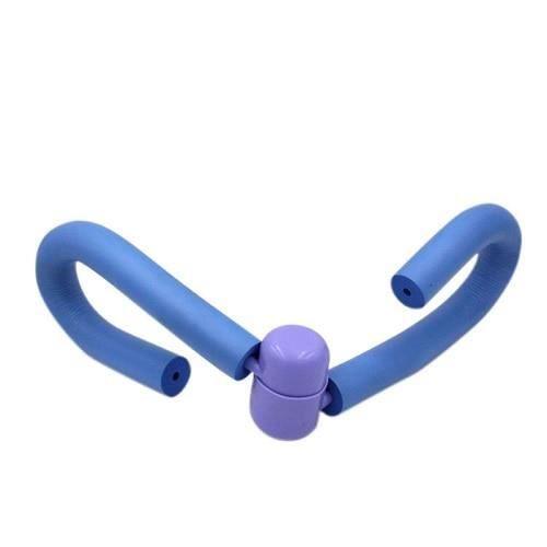 Multi-fonction cuisse maître bras poitrine taille Muscle exerceur Fitness exercice Machine Gym sport - Modèle: Bleu - HSJSZHA10055