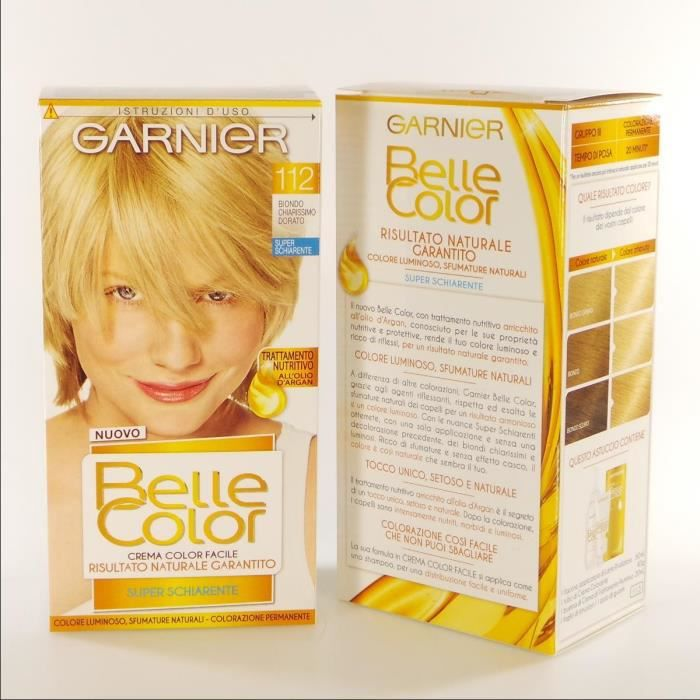 BELLE COLOR 112 Ch.Mo Golden Blonde Hair Colors