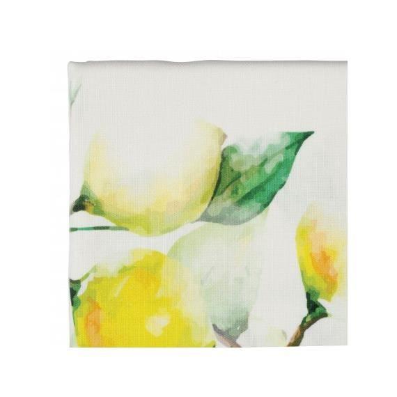Nappe Citron jaune et vert 260 x 160 cm - Cöté Table