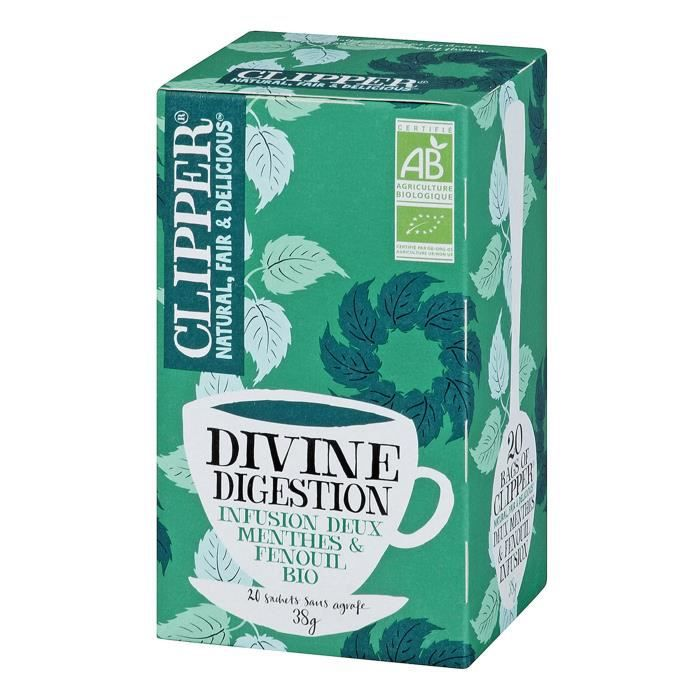 CLIPPER Infusion Divine Digestion Bio 38g