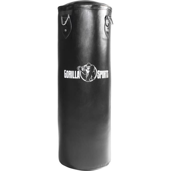 Gorilla Sports - Sac de Frappe Noir de 27Kg ou 37Kg - 27 kg