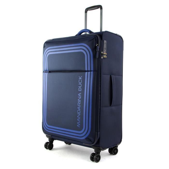 MANDARINA DUCK Bilbao Trolley L Dress Blue [97395] - valise ou bagage vendu seul