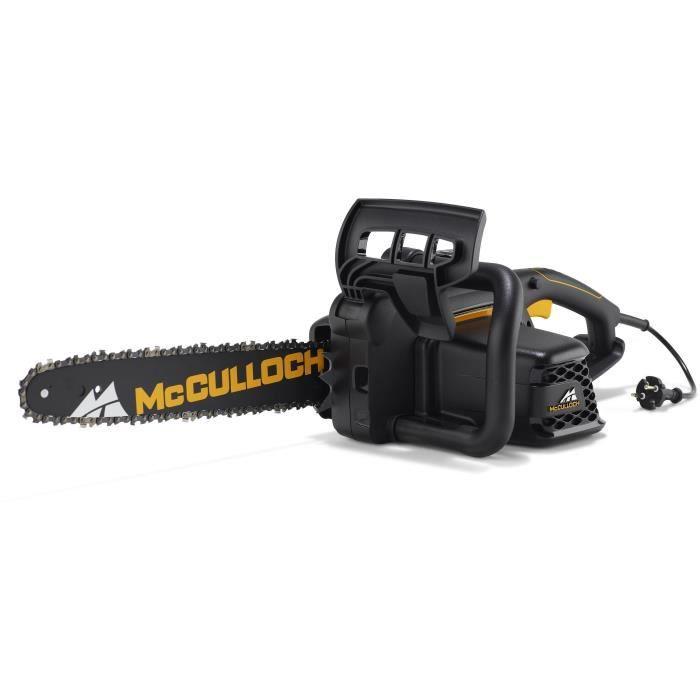 MCCULLOCH Tronçonneuse électrique - 1800 W - Guide 35 cm - Réservoir de 0,24 L