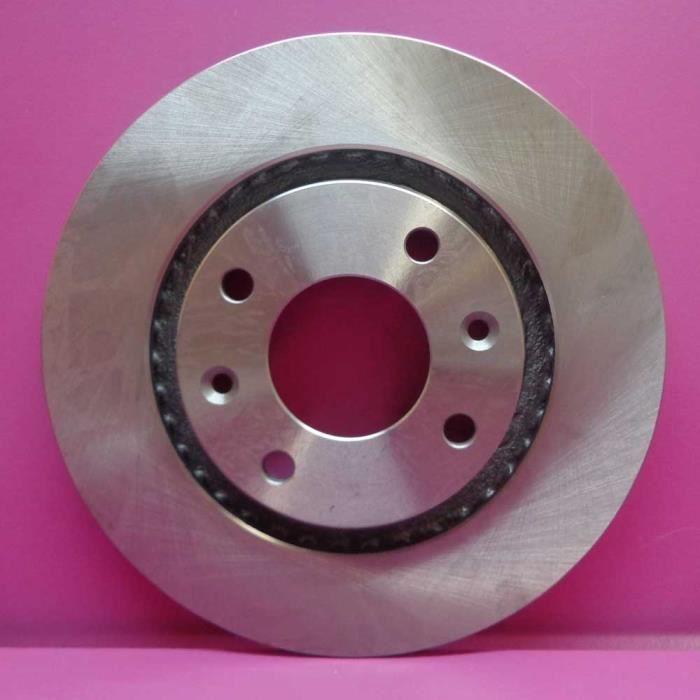 Jeu de disques de freins avant, Peugeot 206 2.0 HDi 90cv de 09/01 à 06/08