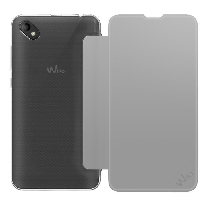 Wiko Folio Game Changer Gris Sunny 2 Plus