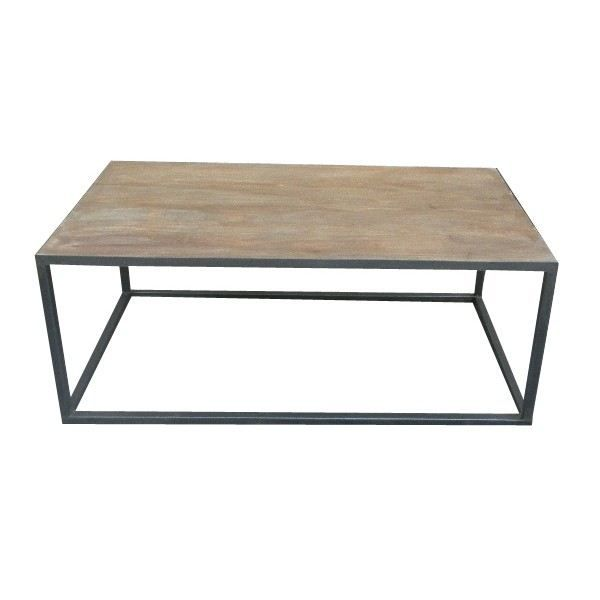 Table basse industrielle achat vente table basse table basse industrielle - Table carree pas cher ...