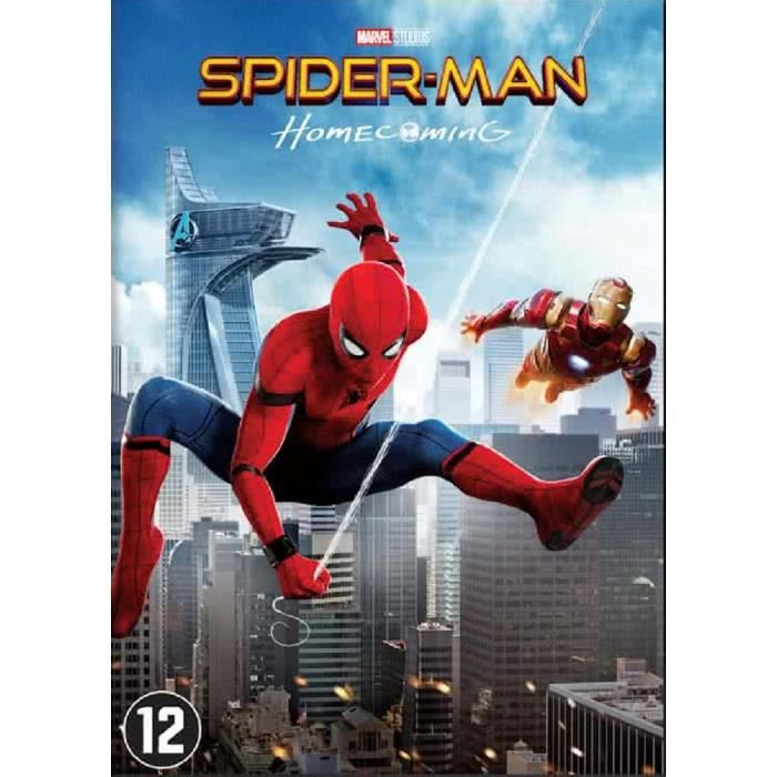 DVD FILM Spider Man - Homecoming (DVD)