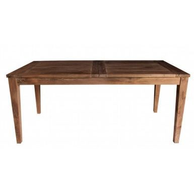 Table en teck recycl rallonge ferme achat vente - Table en teck recycle ...
