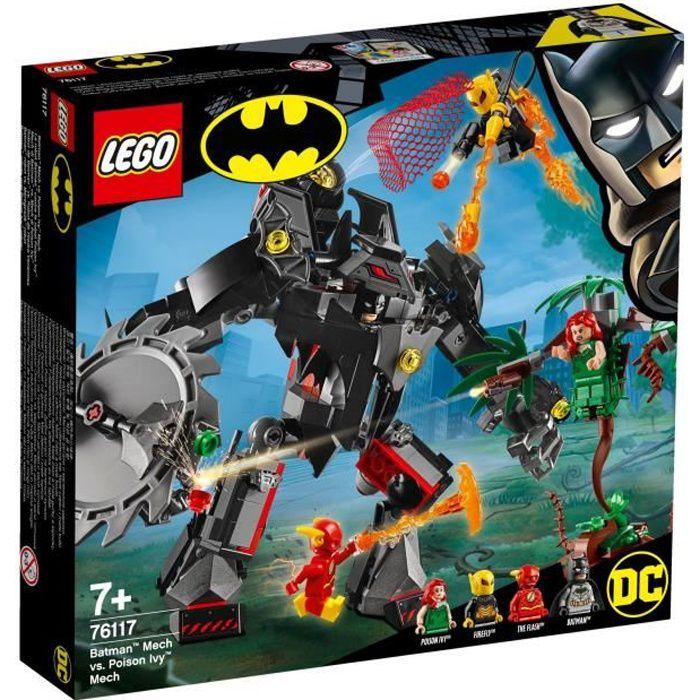 ASSEMBLAGE CONSTRUCTION LEGO® DC Batman 76117 Le Robot Batman Contre Le Ro