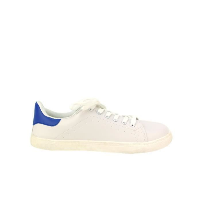 Baskets Blanc Chaussures Femme, Cendriyon