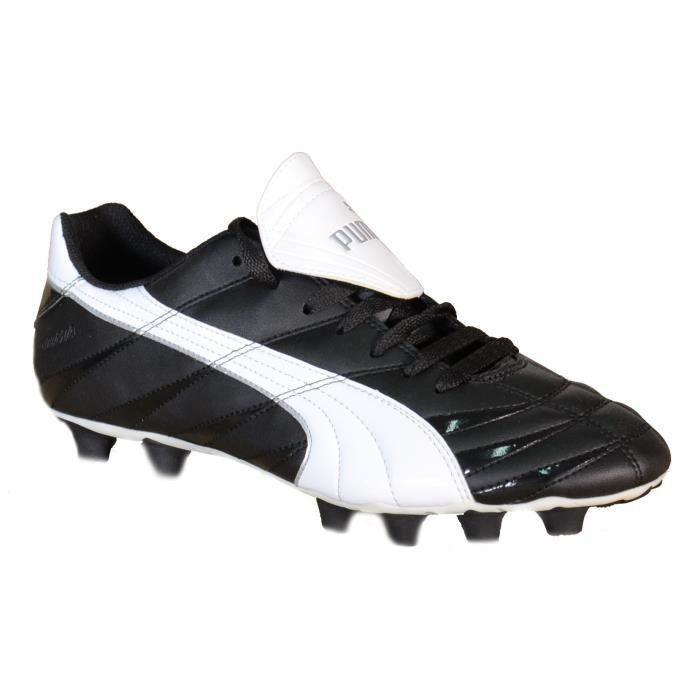 Puma Torceira I FG Chaussures de football Noir Cuir 100421