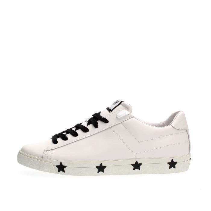 BASKET PONY SNEAKERS Homme WHITE, 40