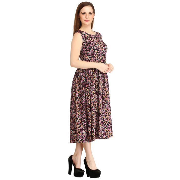Dss des femmes Cotinfab Robe Rayonne I3A3G Taille-34