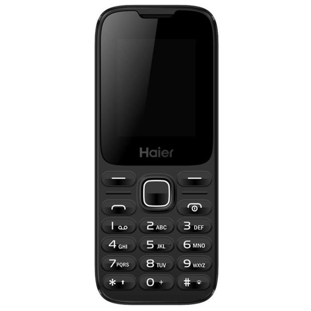 haier m220 feature phone cran noir achat t l phone portable pas cher avis et meilleur. Black Bedroom Furniture Sets. Home Design Ideas