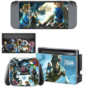STICKER - SKIN CONSOLE Zelda Breath of the Wild Autocollants de Skins de