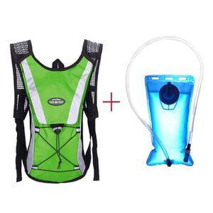 OUTILLAGE DE CAMPING Sac à dos de sac de vessie de l'eau + paquets d'hy
