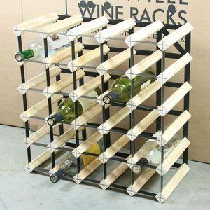 MEUBLE RANGE BOUTEILLE 30 Bouteille Wine Racks Dimensions approximatives