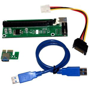 CARTE GRAPHIQUE INTERNE Bitcoin miner PCI Express x1 to x16 Riser Card Ext