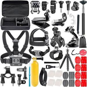 PACK ACCESSOIRES PHOTO ss-33-58-en-1 Action Caméra Kit d'Accessoires pour