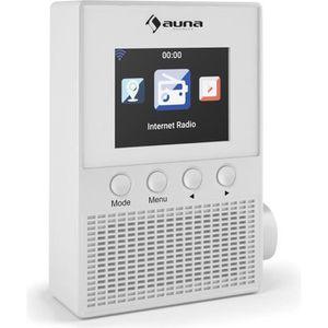 RADIO CD CASSETTE auna Digi Plug Prise Radio internet WiFi lecture r