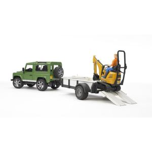 CASSE-TÊTE Bruder 02593 - Land Rover Defender Vert Avec Une R