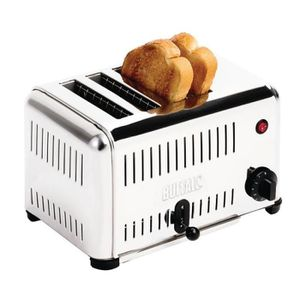 GRILLE-PAIN - TOASTER Grille-pain à usage professionnel 4 tranches Buffa