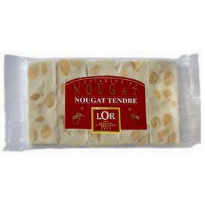 BONBONS ACIDULÉS Nougat snack amandes,nougat tendre 100 gr