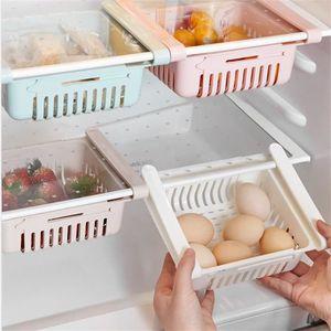 x 2 joejis Kitchen Lot Boite de Rangement frigo Bleu et Blanc | Rangement Cuisine /& frigo r/étractable en 2 Couleurs