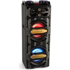 ENCEINTE NOMADE Fenton LIVE2101 Enceinte 800 Watts Bluetooth • SD
