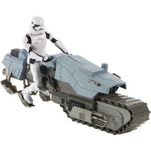 FIGURINE - PERSONNAGE STAR WARS - Figurine 12cm et véhicule