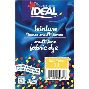 TEINTURE TEXTILE Teinture pour tissu multifibres - 15 g - jaune