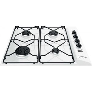 PLAQUE GAZ Table gaz Indesit : Gaz 4 feux - PAA 642 I WH