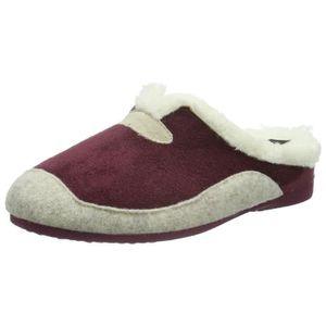 CHAUSSON - PANTOUFLE HHC, chaussons chauds de femmes Lined 3E9X35 Taill