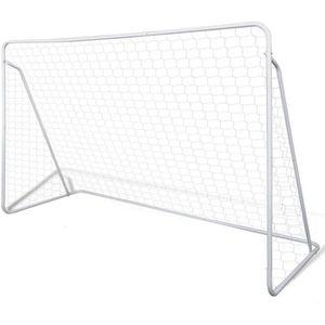 CAGE DE FOOTBALL Cage de but de football 240 x 90 x 150 cm Acier