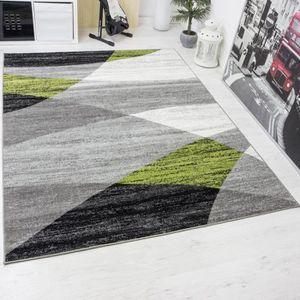 TAPIS Tapis modern 120x170 cm moucheté aux motifs géomét