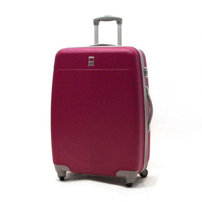 visa delsey valise trolley 4 roues 72 cm prima fuchsia achat vente valise bagage visa. Black Bedroom Furniture Sets. Home Design Ideas
