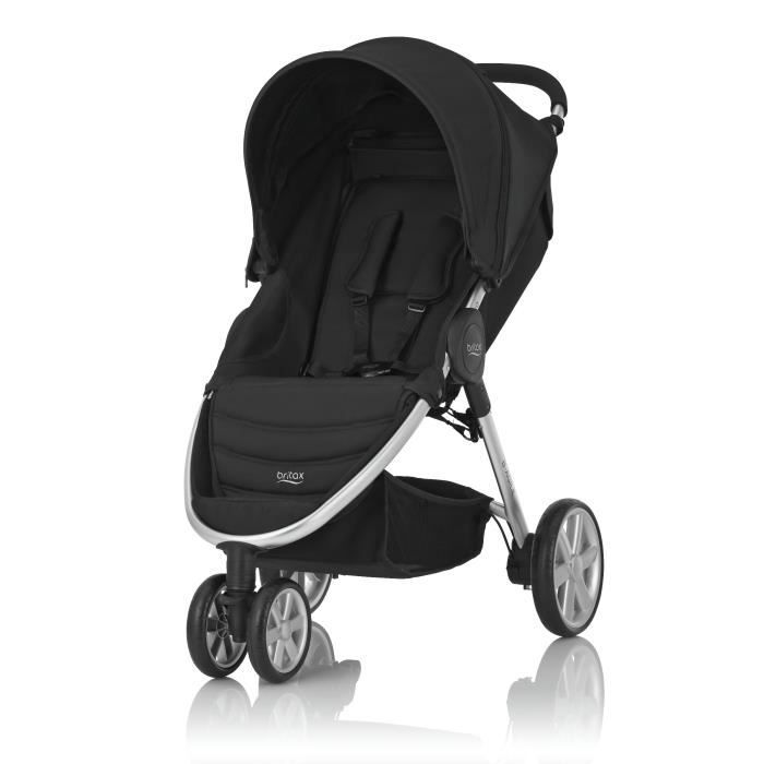 britax poussette citadine b agile 3 cosmos black 3 roues. Black Bedroom Furniture Sets. Home Design Ideas