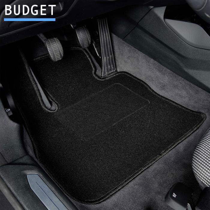Tapis de voiture - Sur Mesure pour CLIO 2 (2001 - 2012) - 4 pièces - Tapis de sol antidérapant pour automobile