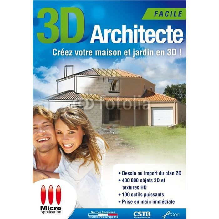 3d architecte facile prix pas cher cdiscount for Architecte 3d video