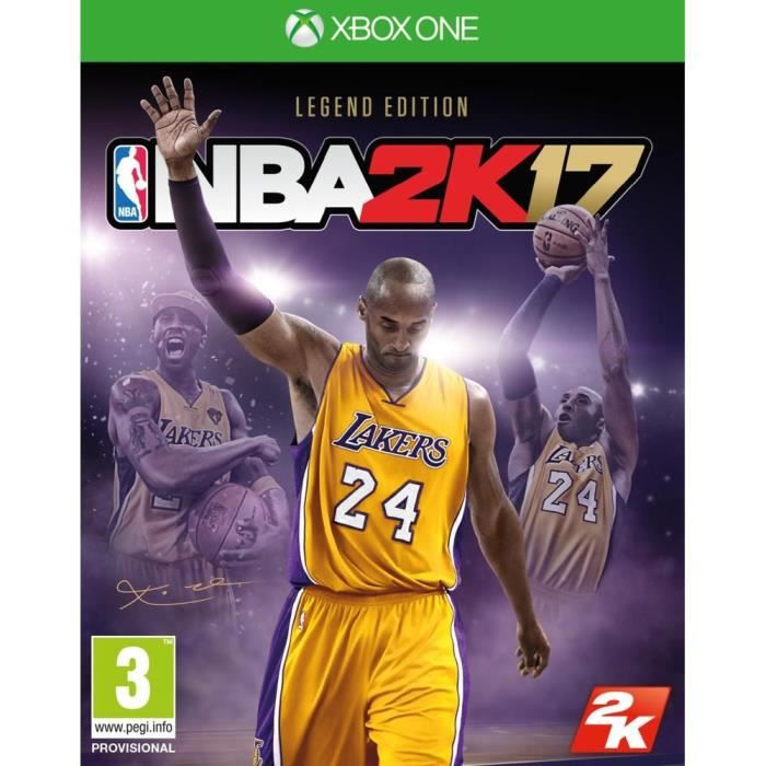 NBA 2K17 Legend Edition Jeu Xbox One