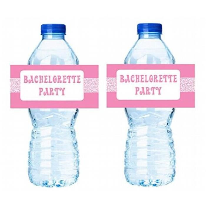 Medecine Ball décorations de fête de célibataire - autocollants étiquettes de bouteille d'eau 15ct B1SJW