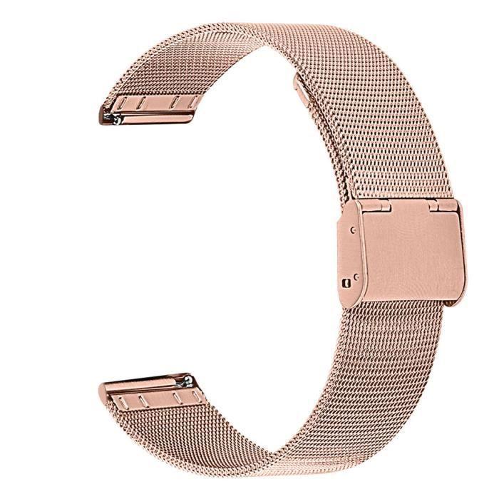 bracelet de montre vendu seul Bracelets de rechange pour bracelet de montre pour Samsung Galaxy Watch Active 2 40 - 44mm