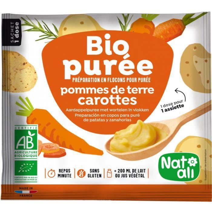 Purée pomme de terre carottes 30gr